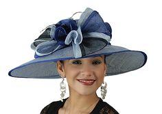 Multi Color Sinimay Church Hat
