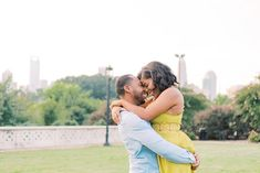 22 Cute Engagement Announcement Ideas You'll Want to Copy - Trust us—you won't want to spill the beans until you've seen these cute and creative engagement announcement ideas. candid outdoor cute hug engaged {Meghan Rose Photography} Creative Engagement Announcement, Engagement Photos, Cute Hug, I M Engaged, Focus Photography, Cute Signs, Party Props, Real Couples, Hair Vine