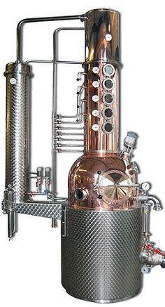 Müller GmbH, Pot Stills Distillery Units Home Distilling, Distilling Alcohol, Whiskey Distillery, Whisky, Moonshine Still Plans, Copper Still, Brewery Design, Homemade Liquor, Exhaust Gas