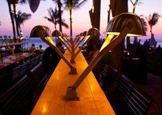 potato head, seminyak, Bali at sunset
