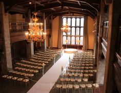Tudor Arms. Doubletree by Hilton. I could never afford this, and I wouldn't actually want a wedding this fancy, but wow
