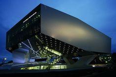 Another one of my favorite buildings in Stuttgart, the Porsche museum.