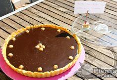 Tarta de Toffee de avellanas y chocolate