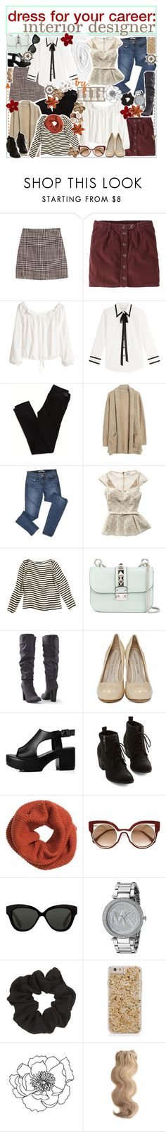 """""""dress for your career: interior designer"""" by world-tips ❤ liked on Polyvore featuring Missoni, Jack Wills, H&M, Marc Jacobs, American Eagle Outfitters, J Brand, mark., Ralph Lauren, Valentino and Venus"""