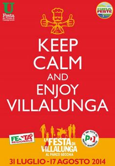 Keep Calm and enjoy Villalunga