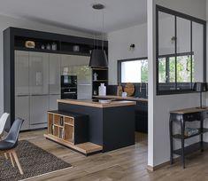 Home Decor Kitchen, Kitchen Interior, Home Interior Design, Kitchen Design, Fashion Room, Little Houses, Home Staging, Sweet Home, New Homes