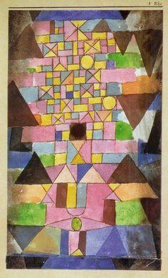 L'aquarelle, Paul Klee l'a pratiquée…et aussi la musique                                                                                                                                                                                 Plus