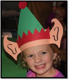 Elf Ears - All kiddos will love being elves! Have your students write a letter to Santa telling why they would make a good elf.