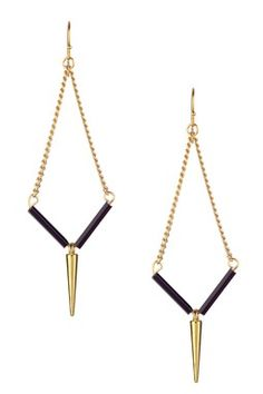 Yasmin Spike & Bugle Bead Earrings