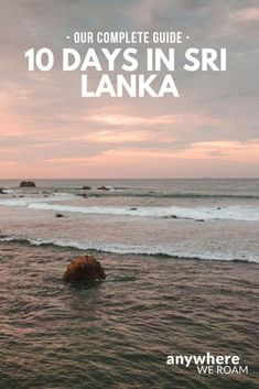 Our complete guide to spending 10 days in Sri Lanka / Sri Lanka 10 day itinerary / Cool Places To Visit, Places To Travel, Travel Destinations, Travel Guides, Travel Tips, Travel Goals, Budget Travel, Sri Lanka Itinerary, Sri Lanka Holidays