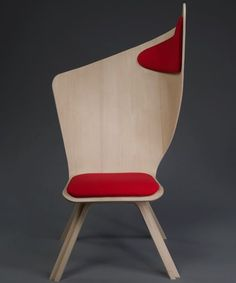Chair by Matte Nyberg I love it, I always sit in that position in the office, perfect for me. Bravo Chair by Matte NybergI love it, I always sit in that position in the office, perfect for me. Bravo Chair by Matte Nyberg Trendy Furniture, Office Furniture, Cool Furniture, Furniture Design, Futuristic Furniture, Plywood Furniture, Office Chairs, Lounge Chairs, Deco Design