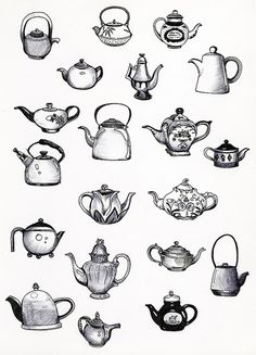 teapot designs for tattoo