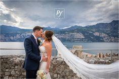 Destination Wedding Photographer - Wedding in Malcesine in Lake Garda in Italy. Overseas wedding photographer and South Wales Wedding Photographer Castle Weddings, Lake Garda, Italy Wedding, South Wales, Destination Wedding Photographer, Wedding Dresses, Photography, Bride Dresses, Bridal Gowns