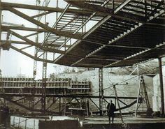 Poética de la levedad - Alejandro de la Sota (1913 - 1996) / Arquitectura Viva nº 150 (2013) Renzo Piano, Building Structure, Steel Buildings, Scaffolding, Glass Roof, Under Construction, Madrid, Archive, Detail