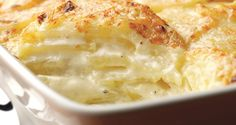 A French classic, this dauphinoise potatoes recipe is delicious and warming, designed to fill you up. Perfect for the winter months! recipe dauphinoise Quick and Easy Dauphinoise Potato recipe Patate Dauphinoise, Great Recipes, Favorite Recipes, Uk Recipes, French Recipes, Vegetarian Recipes, Cooking Recipes, Vegetable Recipes, Crockpot Recipes