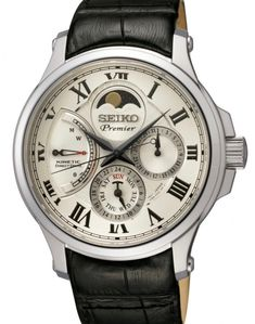 Discover Seiko Premier men's watches and find out where to buy today. All of our men's Premier watches are powered by kinetic technology. Men's Watches, Watches For Men, Wrist Watches, Moonphase Watch, Seiko Men, Popular Watches, Moon Phases, Watch Brands, Stainless Steel Case
