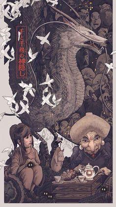 Studio Ghibli Films, Art Studio Ghibli, Studio Ghibli Poster, Totoro, M Anime, Anime Art, Art Japonais, Estilo Anime, Animation
