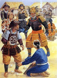 The burden of command, Osaka 1615