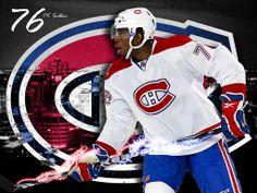 Subban par/by Guillermo Antelo Hockey Teams, Hockey Players, Ice Hockey, Montreal Canadiens, Hockey Boards, Nhl, Captain America, Motorcycle Jacket, Superhero