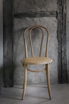 Chair in birch wood.