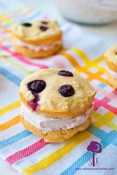 Berry Vanilla Whoopie Pies via @Amy Jabara Pickin's Kitchen
