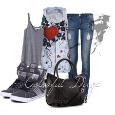 """""""♥ Heart Me Up"""" by jokerxjester on Polyvore"""