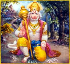 """☀ SHRI HANUMAN ॐ ☀ """"Those persons who always chant """"Shri Ram"""", """"Shri Ram"""", without any doubt would get victory as well as salvation and happiness.""""~Ram sthava Raja"""
