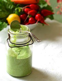 Pemberley Gardens Creamy Pesto Salad Dressing