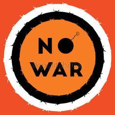 No war vector illustration — Stock Vector © Winegood #146106387