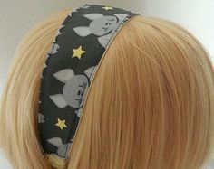 OOAK Kawaii Cute Bat Headband - Baby Bat Headband - Kawaii Hair Accessory - Kawaii Bat Hair Accessory - Kawaii Headband - Bat Headband