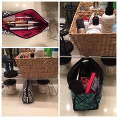 Fierce and Fabulous #tyrabeautytainer: Bathroom #decluttered