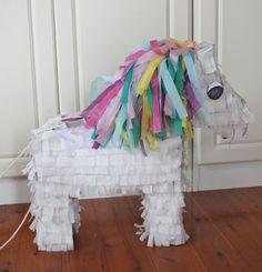 Horse pinata - adapt to theme as Dala horse