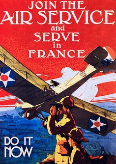 Vintage Poster - Lee Sutton, via Flickr WWI Recruitment Poster, 1917