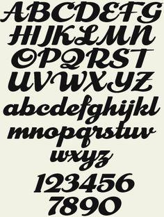 Letterhead Fonts LHF Cosmic Cursive Retro Script Hand Lettering AlphabetLetter