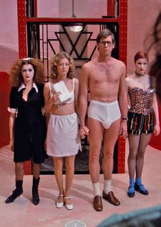 Susan Sarandon and Barry Bostwick in The Rocky Horror Picture Show