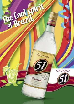 Key visual Cachaca 51