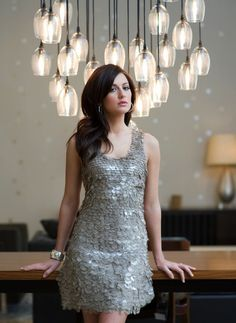 Light fixtures are very nice.....Jillian looks great as well.