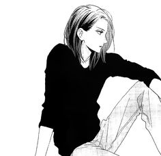 流れ星 Chica Anime Manga, Manga Boy, Cool Anime Girl, Anime Art Girl, Dark Anime, Character Inspiration, Character Art, Tsubaki Chou Lonely Planet, Hirunaka No Ryuusei