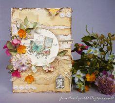 Wild Flower Mother's Day Card. Stempelglede :: Design Team Blog. 2015 © Jane Johnson