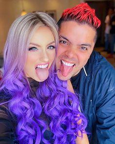 """Katie Angel en Instagram: """"Partner in Crime✌🏻 ..Qué nos dirías si nos encontráramos hoy frente a frente? 💜 . NOS VEMOS EN EL TOUR!!!! Adquiere tu boleto en el Link en…"""" Blusas Best Friends, Barbie, Vs Angels, Ricky Martin, Yolo, Instagram, Hair Styles, Beauty, Link"""