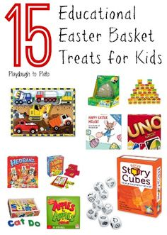 101 easter basket ideas for babies and toddlers that arent candy 15 non candy easter basket stuffers negle Choice Image
