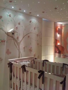 Uma ideia para o futuro quarto da Helozinha - com as devidas adaptações, claro. Oficina de Arquitetura: Quartos de Bebê.