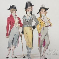 Dandy, Theatre Costumes, Thomas Kinkade, French Revolution, Costume Design, My World, Images, Sketches, Princess Zelda