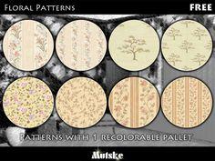 mutske's Floral Pattern Set 5