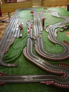 David Yuen uploaded this image to 'SCX Digital Slot Cars'. See the album on Photobucket. Race Car Sets, Slot Car Race Track, Slot Car Sets, Slot Car Racing, Slot Car Tracks, Race Tracks, Race Cars, My Dream Car, Dream Cars