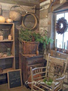 country primitive home decor used Country Primitive, Primitive Homes, Primitive Kitchen, Primitive Antiques, Prim Decor, Country Decor, Rustic Decor, Farmhouse Decor, Country Homes
