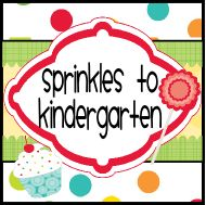 Sprinkles to Kindergarten - 400 Followers Giveaway with TONS of prizes and fun!  Come on over and enter today.  :)