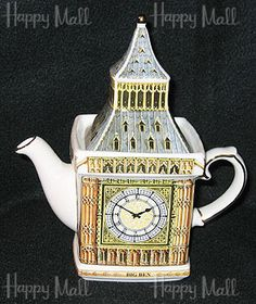 Sadler Teapot, Big Ben, 2-Cup