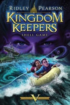 Kingdom Keepers Book V: Shell Game Hardcover by Pearson, Ridley