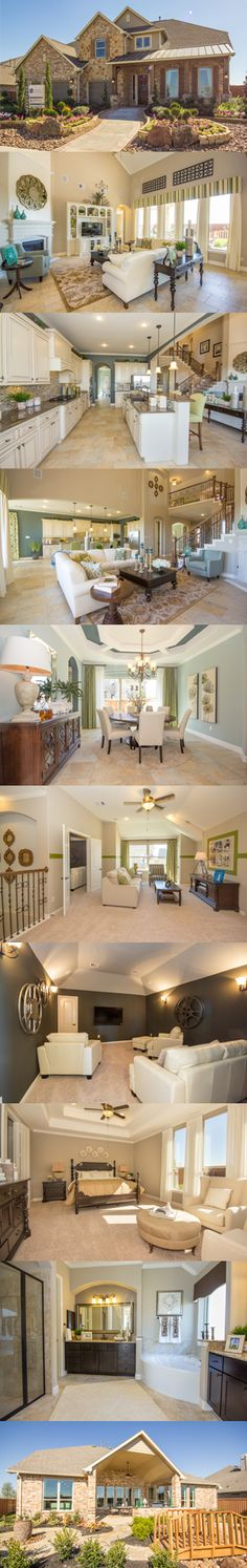 Beautiful New Haven model home from Village Builders in Houston, TX | via Lenmar | #LuxuryHomes